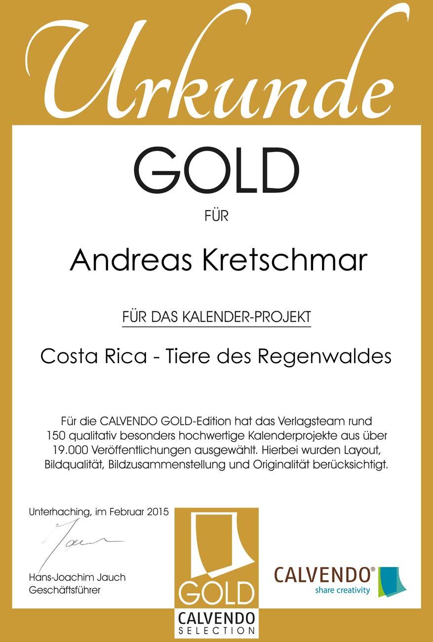CALVENDO_Gold_Kretschmar